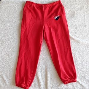 Adidas | NWOT Red Joggers Sweatpants with pockets